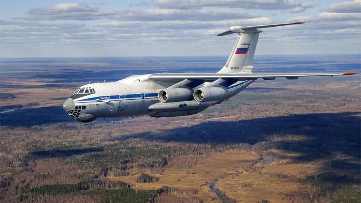 Ил-76 привлекли для тушения природного пожара в Тюменской области