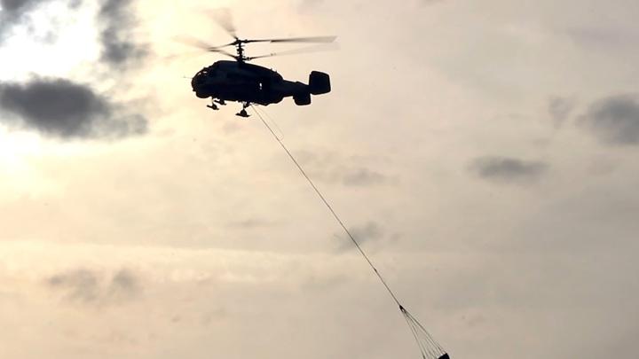 Под Калининградом разбился вертолет