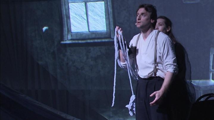В зале «Зарядье» показали музыкально-пластический спектакль «Малер. По краю вечности»