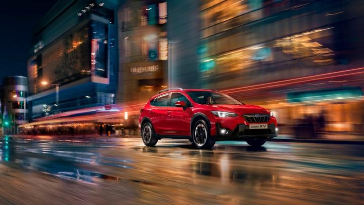 В России начались продажи обновленного кроссовера Subaru XV