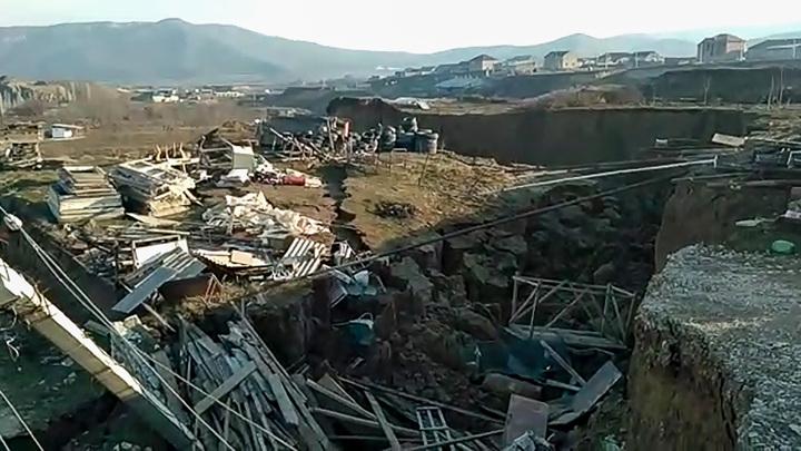 Оползень в Дагестане: кабмину и МЧС даны поручения
