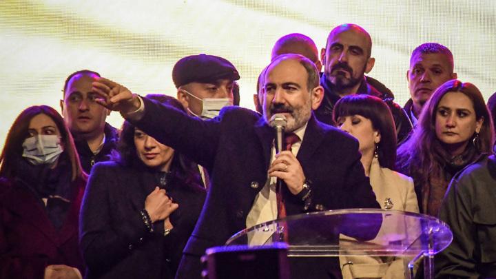 Пашинян назначен на должность премьер-министра Армении