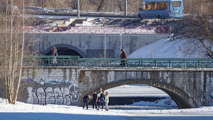 Временный снежный покров появится в Москве