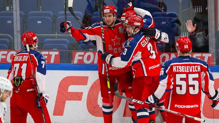 ЦСКА в третий раз обыграл СКА в полуфинальной серии Кубка Гагарина