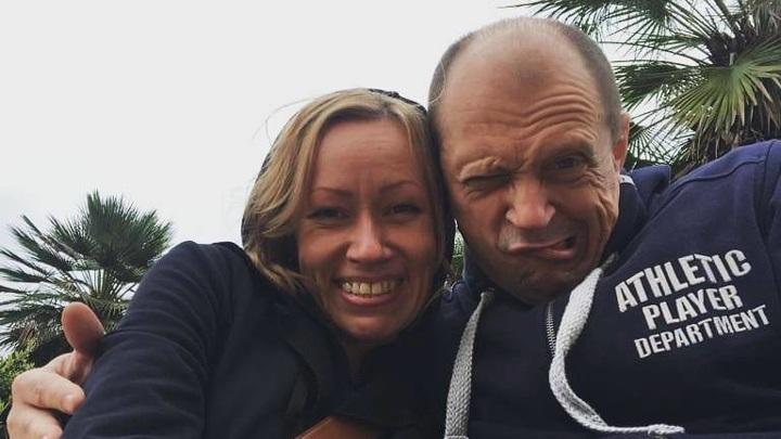 Дмитрий Гусев с женой