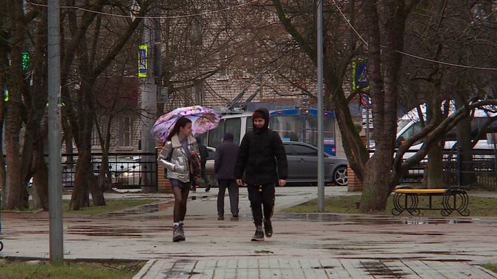 Период дождей начинается в Европейской части России