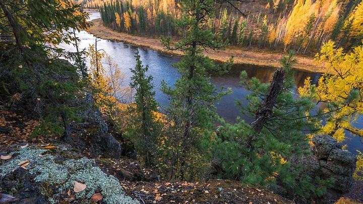 Центральносибирский заповедник, река Кулинна, Эвенкия (Красноярский край) / Evasyagina, CC BY-SA 4.0