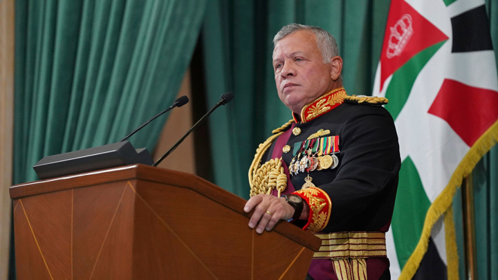 Арабские страны и США выразили поддержку королю Иордании