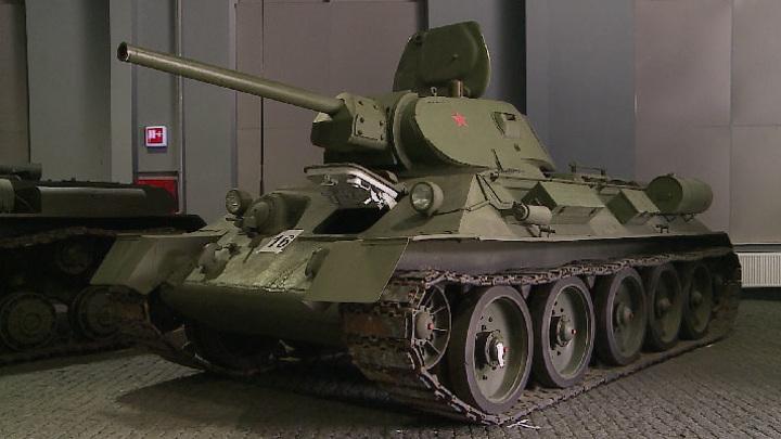 В Верхней Пышме готовят военную технику ко Дню Победы