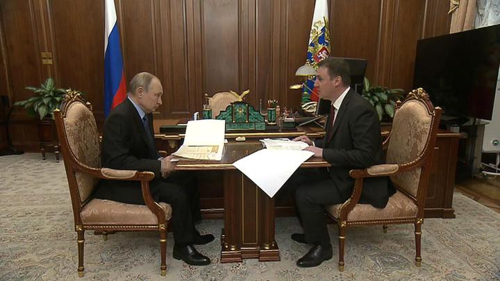 Путин раскритиковал избыточную бюрократию в сфере фермерского кредитования