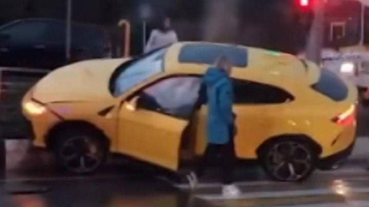 Названа хозяйка разбившегося в Сочи Lamborghini