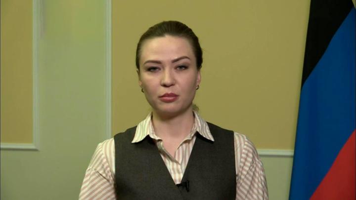 """кадр из программы """"60 минут"""". Никанорова"""