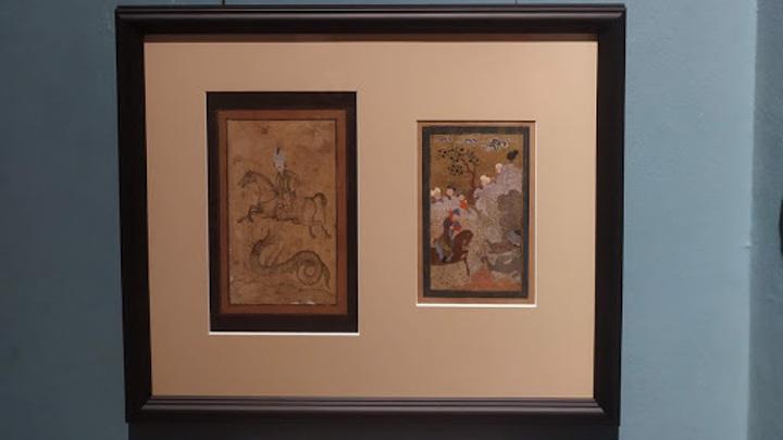 """Иллюстрации к поэме """"Семь красавиц"""", Халилов Р.В., 1970-е (из собрания ГМВ)"""