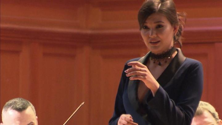 Айгуль Ахметшина выступила в Большом зале консерватории