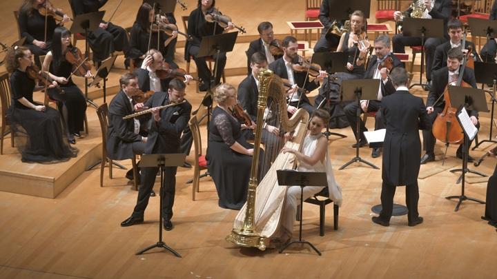 Фестивали флейты и арфы пройдут в Мариинском театре