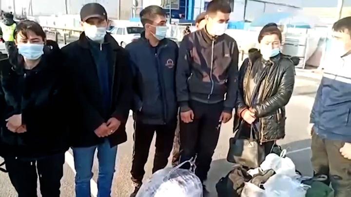 В Волгоградской области задержана группа нелегальных мигрантов из Узбекистана