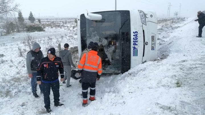 Госпитализирована часть россиян, пострадавших в ДТП в Турции
