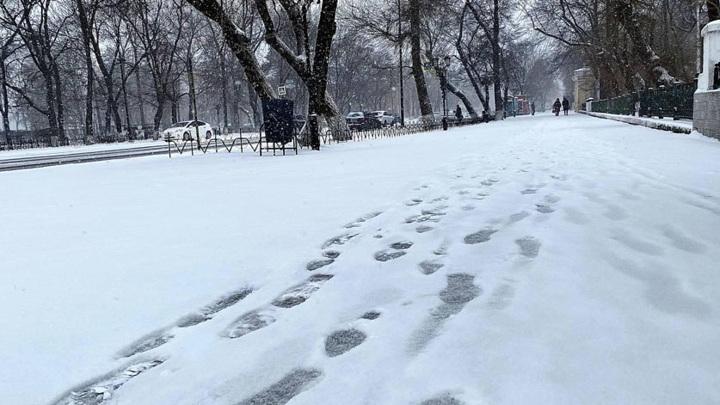В Приамурье вернулась снежная зима