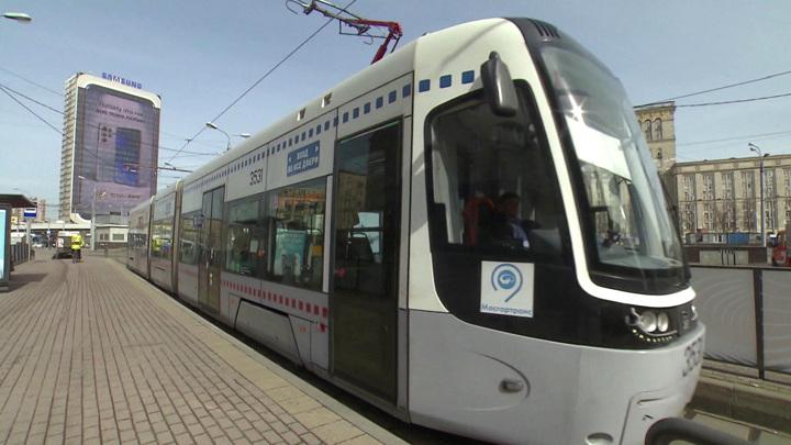 В Москве обновят трамвайный парк