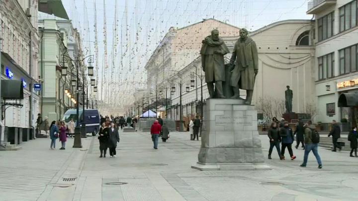 Погода в Москве побила рекорд 59-летней давности