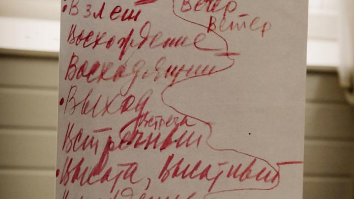 автограф С.П.Королева - выбор названия пилотируемого  космического корабля