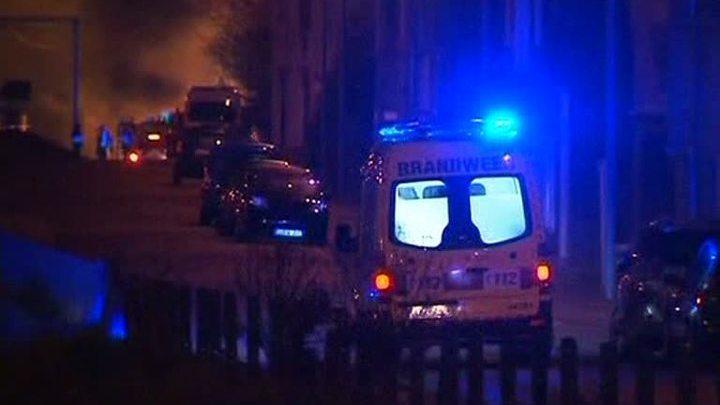 """Взрыв """"ядовитого"""" поезда: двое погибших, 14 раненых"""