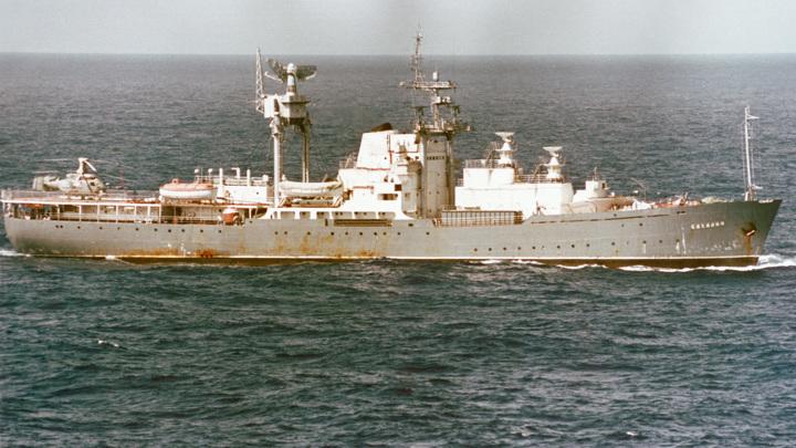 """корабль измерительного комплекса """"Сахалин"""""""