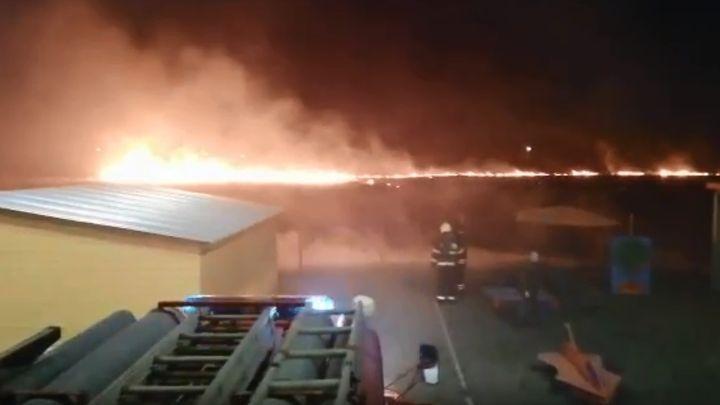 Из-за пала травы в Новомосковске чуть не сгорел детский сад