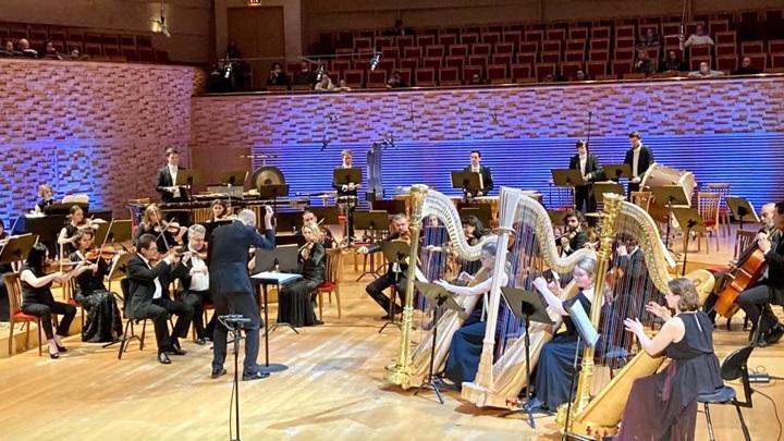 Фестиваль флейты и арфы в Мариинском театре. Фото Людмилы Осиповой