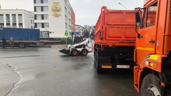 Из-за непогоды общегородской субботник в Ставрополе переносится