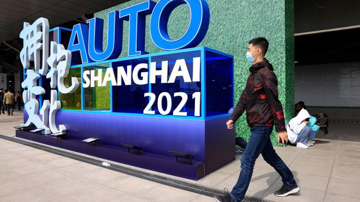 В Шанхае открылся международный автосалон
