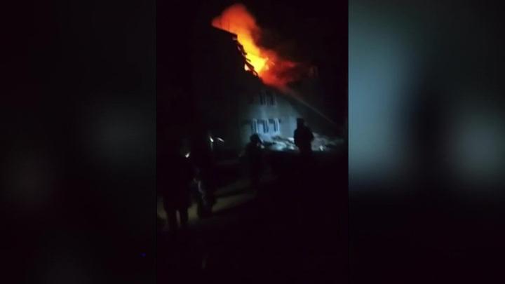 Взрыв газа в нижегородском селе разрушил четыре квартиры