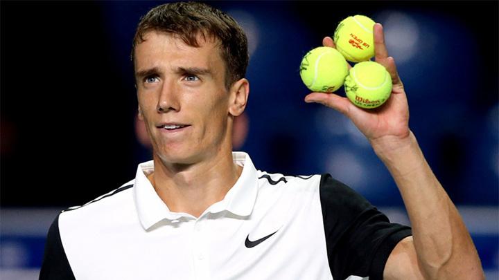 Кузнецов выбыл в первом круге турнира в Барселоне