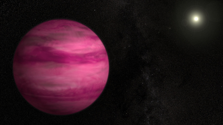 Странная планета не укладывается в представления астрономов о космосе.