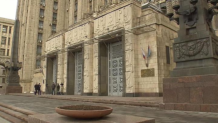 Россия объявила о высылке дипломатов из стран Прибалтики и Словакии