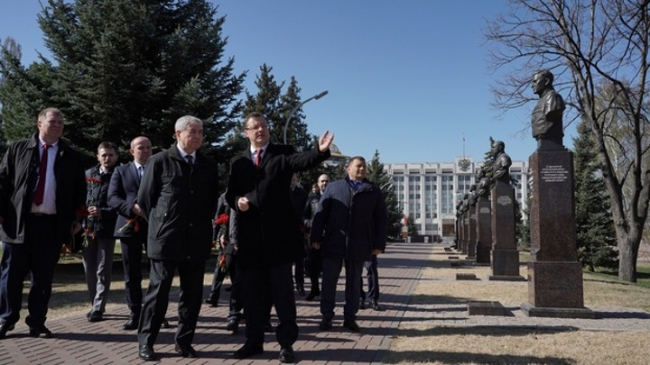 В Самару прибыла делегация из Белоруссии