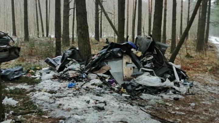 В Тверской области ликвидировали свалку у мемориального кладбища
