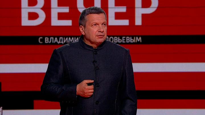 Соловьев посоветовал Зеленскому поговорить напрямую с главами ДНР и ЛНР