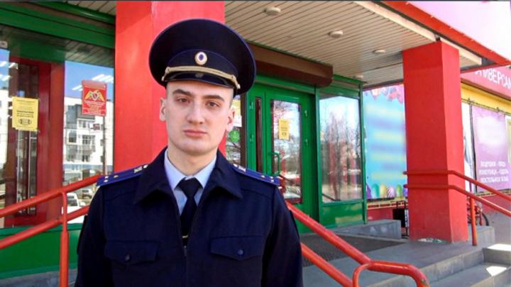 Костромской следователь во время обеденного перерыва задержал грабителя