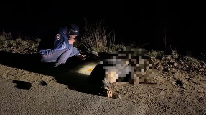 В Башкирии ищут водителя, который насмерть сбил пешехода и скрылся