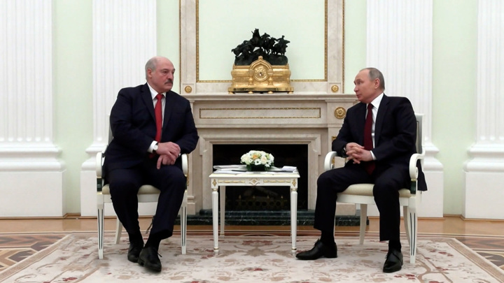 Союзное государство, заговор и Зеленский: встреча Путина и Лукашенко