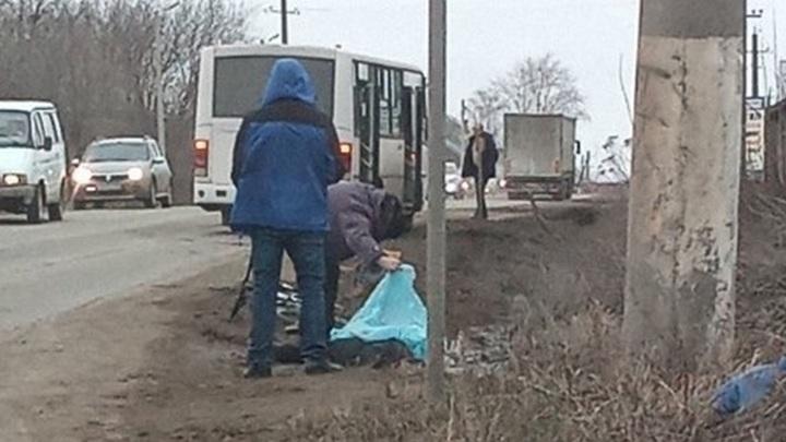 Автобус насмерть сбил юного велосипедиста на пешеходном переходе