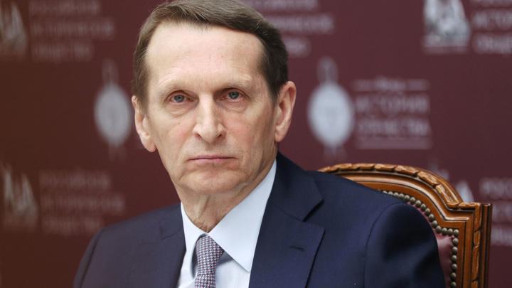 """Нарышкин назвал обвинения Праги в адрес Москвы """"убогой ложью"""""""