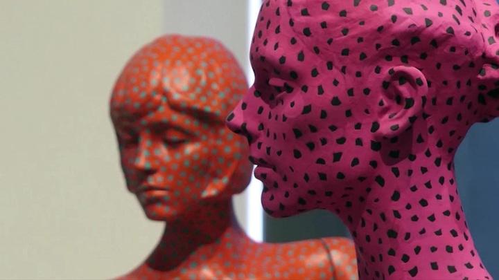 Выставка работ Яеи Кусамы проходит в Берлине