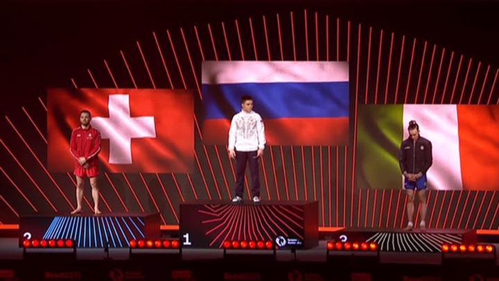 Никита Нагорный стал чемпионом Европы по спортивной гимнастике