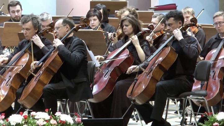 В Омске состоялся концерт Валерия Гергиева и оркестра Мариинского театра