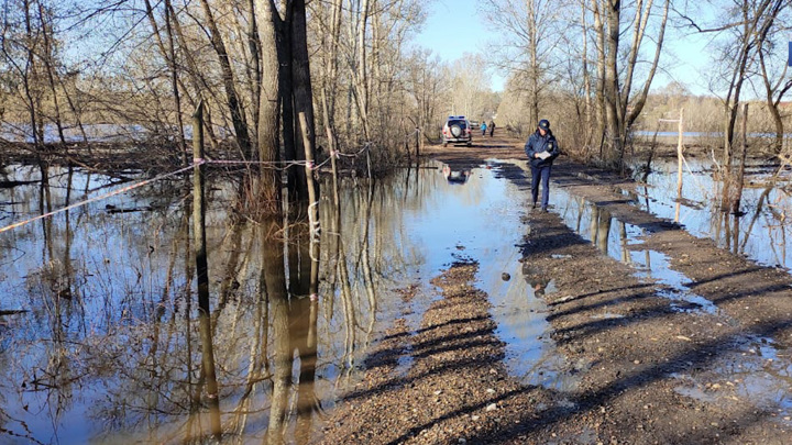 В Уфе паводковая обстановка улучшилась из-за снижения уровня воды в реках