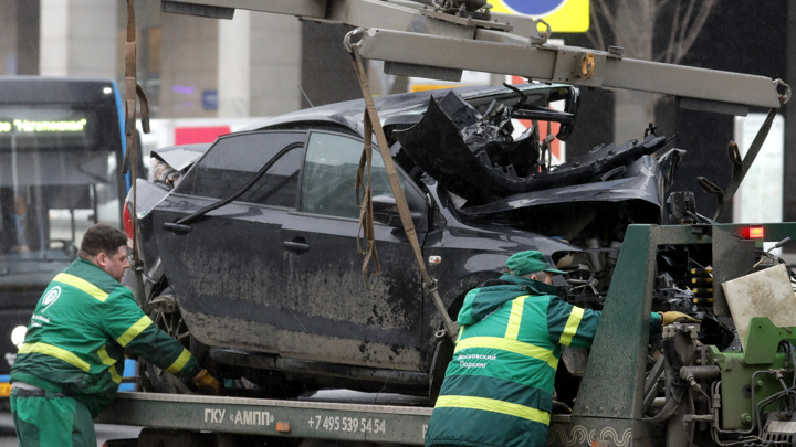 Власти Москвы подсчитали количество ДТП с пьяными водителями