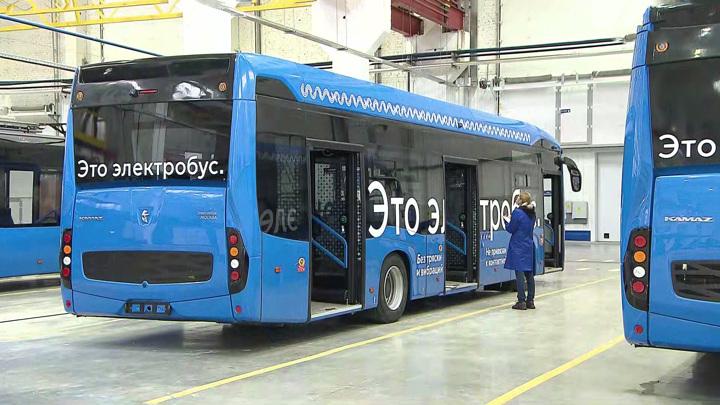 Мосгортранс расследует первый случай возгорания электробуса в столице