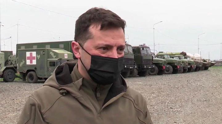 """Зеленский назвал возвращение Крыма """"войной в Европе"""""""